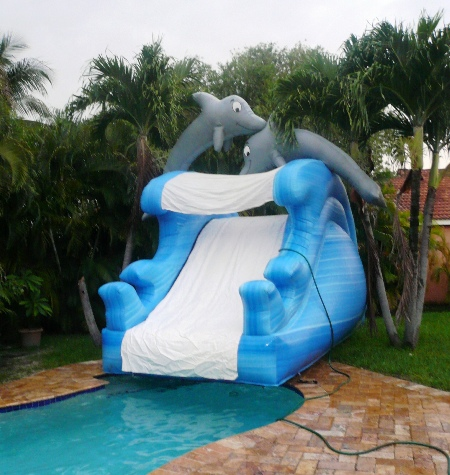 Water Slide Rentals Miami | Inflatable Slide| Slip and Slide